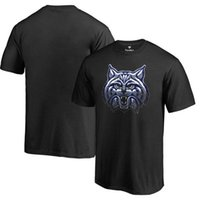 arizona wildcats college - 2016 New Arrival Arizona Wildcats Midnight Mascot T shirt Hot press Men College Primer shirt black long sleeved T shirt Size M XL
