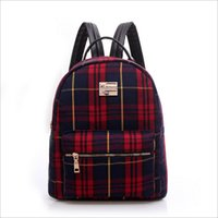 backpack english - ZL11025 small pure and fresh and lovely son English students The fashion leisure ladies canvas backpack