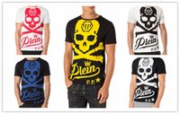 Wholesale Christian religion Summer Men S Fashion Brand PP Short Sleeve T Shirt Men Casual Hip hop High Quality Skulls Sports Camisetas T Shirt qp4