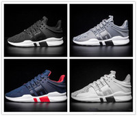 Wholesale EQT Support ADV Primeknit Men Grey Sneakers High Quality Adult Casual Shoes Size