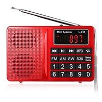 Wholesale Original Speaker L FM AM SW Multiband Radio Speaker MP3 Player LCD Display Supports FM Loudspeaker Volume Control
