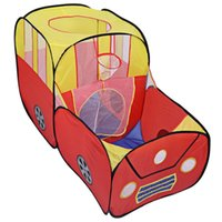 Wholesale HOT Sale Baby Cartoon Toy Tent Portable Foldable Outdoor Indoor Tents Children Playhouse Breathable Play Game House Cubby Hut