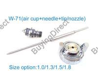 Wholesale Anest Iwata spray gun parts w w W Spray Gun Air Cap Nozzle Needle set Kit Repair