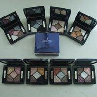Pro 5 Color sombra de ojos Set Earthy Tones impermeable Maquillaje cosmética con espejo de larga duración de sombras de ojos paleta cosmético Set