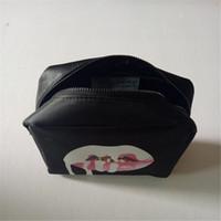 Wholesale New two color Kylie Jenner Make Up Bag Holiday Edition Makeup Bag Kylie Lip Kit Cosmetics Bag High Quality