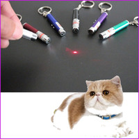 Wholesale Laser Tease Cats Rods The New Cat Toys LED Light Laser Funny Interactive Cat Pen Toys Goods For Pets Juguetes De Gatos