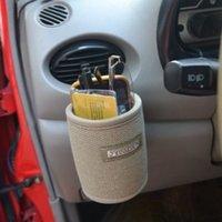 Wholesale Car Organizer air outlet storage bag buggy bag pocket holder case for cell phone glasses pen card