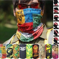 Wholesale seamless magic ride magic anti UV bandana headband scarf hip hop multifunctional bandanas Outdoor Head scarf