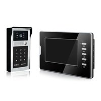 access id - Access video door phone quot color screen and intercom unlock by password and ID card