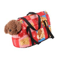 accessories pet carriers - New Design Puppy Tote Handbag Comfy Dog Cat Carrier Bag Shoulder Carrier Pet Dog Travel Accessories JJ0228