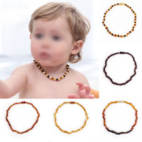 baltic amber teething necklace - Baltic Natural Amber Beads Toddler Teething Necklace Authenticity Genuine Baltic Baby Teething Amber Necklace A Grade Quality