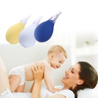 Wholesale Health Silicone Nose Snot Cleaner Softest Vacuum Baby Nasal Aspirators LD789