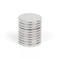 Mathtype magnets 100pcs N35 Super Strong Round Disque Cylindre 12 x 1.5mm Aimants Terre rare Neodymium