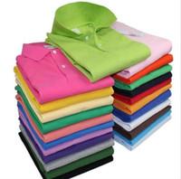 achat en gros de shirt xxl pour les hommes-Nouveau Brand2016crocodile broderie Polo Shirt Hommes Manches courtes Chemises Casual Man Polo Solid Plus 5XL 6XL Shirt Polo
