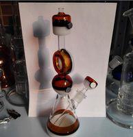 basic oils - 2017 Poke Beaker Bong basic Thick Glass Water Pipe Tobacco Bowl Oil Dab Rigs Recycler bongs mm joint smoking Bongs