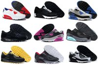 Wholesale 2016 Max Running Shoes For Men High Quality Sport Shoes Black White Maxes Trainers Sneakers Eur