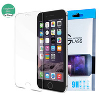 Wholesale Iphone Plus Iphone S Plus Top Quality H Tempered Glass Film Screen Protector mm D Ship out within day