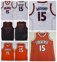 Men anthony for men - College Camerlo Anthony Jersey Men Syracuse Orange Basketball Jerseys Cheap For Sport Fans Breathable All Sewing High Quality