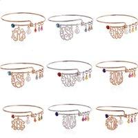 alloy braclet - High Quality New Alex and Ani style Mixing style Braclet Expandable Monogram Bracelets Bangles