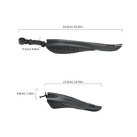 Wholesale 1Set Bicycle Mudguard Mountain Bike Fenders Set Mud Guards Wings For Bicycle Front Rear Fenders Cycling Accessories