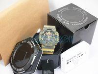 Bon Marché Accessoires pour hommes-AAA top accessoires complets relogio G * 100 Montres sport hommes, montres hommes Montre chronographe LED, montre militaire, montre numérique
