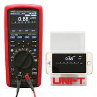Wholesale True RMS Datalogging Multimeters UT181A multimeter meter TFT color screen USB connection overload protection lithium ion battery charge