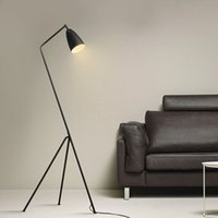 Wholesale copper floor lamp Designer Gubi Grassshopper Shake loor lamp loft floor light standing light study room light