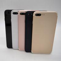 Wholesale Newest Goophone i7 Plus unlocked real G LTE Fingerprint MTK6735 Bit Octa Core clone smartphone x1080 android show GB