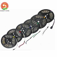 Advertisement automobile led light strips - 5M roll LED SMD Waterproof Flexible LED Strip Light Warm White Cool White Home Automobile Decoration