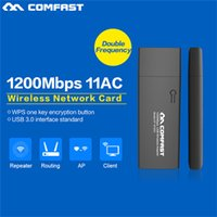ac ethernet adapters - COMFAST CF AC Mbp G GHz Dual Band Support AC USB WI FI WIFI WIRELESS ADAPTER Transmit Network Cards