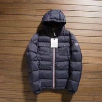 Wholesale Full Package Hot sale Fashion Brand Causal SUPER COOL high quality down filled men jacket down filled outdoor hooded coats