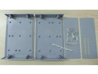 Wholesale Electronic Instrument Plastic Shell Case with Ventilation Hole mm s568