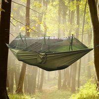 Открытый кемпинг, палатки для приключений, кемпинг Гамаки Москитные сетки Гамаки Подвесные палатки Висячие деревья Висячие деревенские палатки