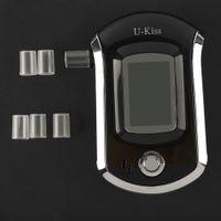 Wholesale Hot U Kiss Professional LCD Screen Display Alcohol Tester Digital Alcohol Detector High Sensitivity Breathalyzer Hot Sale