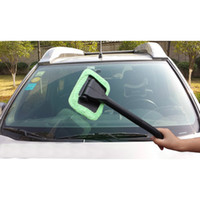 Wholesale Auto Window Cleaner LongDust Car Care Windshield Shine Towel Handle Car Wash Brush Handy Washable Car Cleaning Tool
