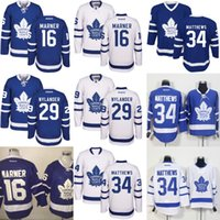 best leaf - 2016 New Season Toronto Maple Leafs Jersey William Nylander Auston Matthews Mitchell Marner Hockey Jerseys Best Quality M XL