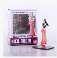 achat en gros de zéro un gros-Anime en gros-16cm une pièce ZERO après 2 Yeaes Le nouveau monde Nico Robin PVC Action Figure collection modèle de jouet OP006
