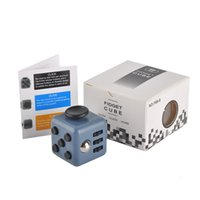 Wholesale hot colors New novelty Fidget Cube stress relief toys for kids and adults Decompression stress ball wisdom development toy
