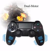Precio de Joystick usb-USB controlador de juegos con cable para Sony Playstation 4 PS4 Controlador Shock joystick Gamepads para PlayStation 4 Consola doble vibración