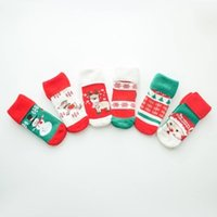 Wholesale Christmas Socks For Kids Boys Girls Childrens Winter Best Baby Socks baby cartoon christmas socks warm