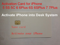 For Apple iPhone apple activation - Customization Universal Activation SIM Card for iPhone GS S s c P S SP P instead of original sim card