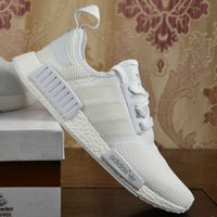 Baseball baseball athletic - 2017 Adidas Originals top quality NMD Runner Primeknit mens womens running shoes Sneakers cheap fashion Athletic boots With Box