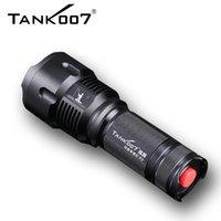 Tank007 F3 1000lm CREE XL-L2 Zoom Световой фонарь с тремя источниками света для прикорм рыбы, синий белый желтый 26650 Аккумулятор