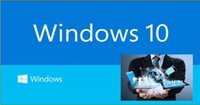 Wholesale WIN10 ACTIVATION CODE WORK FOR BIT ALL LANGUAGE VERSION WINDOWS CD CD FOR WIN7 AND WIN8 AND WIN8 KEY COA STICKER LABEL