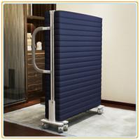 Wholesale Heavy Duty Wheels Hotel Extra Bed Folding Rollaway Bed cm