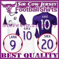 advanced knitting - The new Thai version MLS Orlando City Jersey City adult football jersey KAKA Advanced quality Home Purple white football shirt SHE