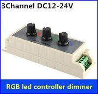 beige color rgb - DC12V V A Knob RGB LED Dimmer Controller Channel Output for RGB Multi color LED Strip Lights and Single Color LED Strip