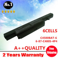 Wholesale New cells Laptop battery for Clevo C4500 Series C480S P4 C4500BAT