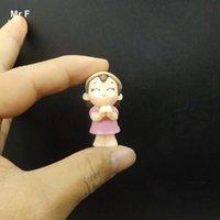 al por mayor juguetes de agricultores-Los amantes de la niña del granjero figura encantadora figura juguete de resina DIY artesanía accesorios hechos a mano miniaturas paisaje modelo de simulación de regalo