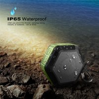 Wholesale CRDC Cell Phone Bluetooth Speaker Subwoofer With CSR Chip Powerful IP65 Waterproof Mini Portable Wireless Speakers Cell Phone Accessorie